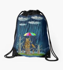 rainforest Drawstring Bag