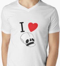 Baby Bones Men's V-Neck T-Shirt