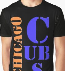Chicago Cubs Typography Graphic T-Shirt