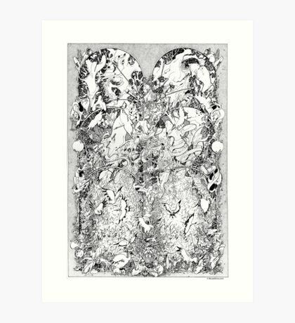 Graphics 001 Art Print