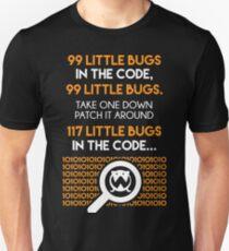 99 Little Bugs Programer T-Shirt