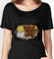 World's Best Onion Rings At Joe's Women's Relaxed Fit T-Shirt
