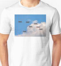 Team Orlik 7-ship arrow formation T-Shirt