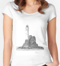 Ireland Lighthouse Women's Fitted Scoop T-Shirt