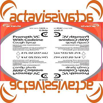 b6fd5d62c6c2 Actavis Prometh VC With Codeine Cough Syrup Mirror