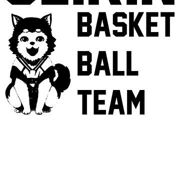 Kuroko's Basketball T-SHIRT // STICKERS: SEIRIN highschool - Tetsu #2 by wayfinder