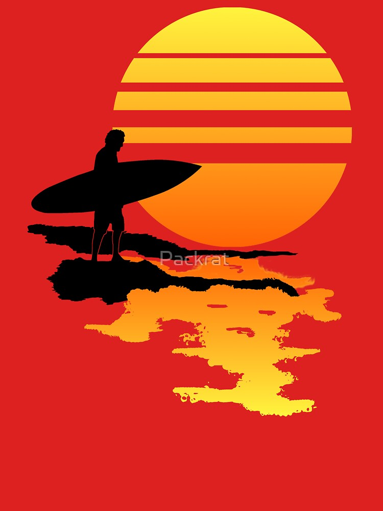 Surfing Sunrise de Packrat