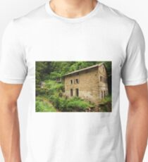 Abandoned Mill Near Salino  T-Shirt