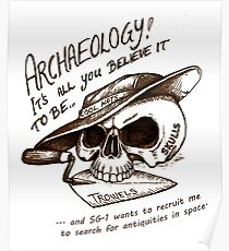 Archaeology - it's all you believe it to be… Poster