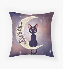 I love you to the moon & back (remix) Throw Pillow