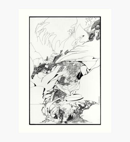 Graphics 002 Art Print