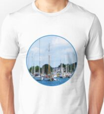 Village Dock at Wickford, RI T-Shirt