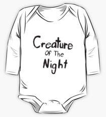 Kreatur der Nacht Baby Body Langarm