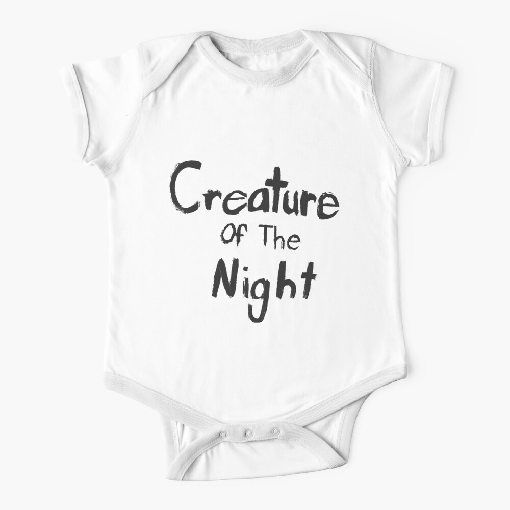Creature of The Night Baby One-Piece
