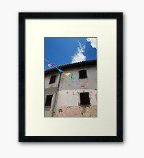 Rural Friulian Building Framed Print