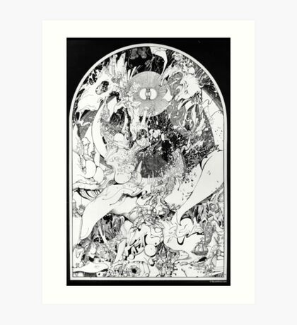 Graphics 004 Art Print