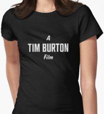 Tim Burton. Womens Fitted T-Shirt
