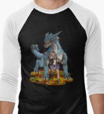 Dragon Queen Men's Baseball ¾ T-Shirt
