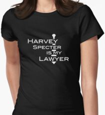Harvey Specter is my Lawyer w Women's Fitted T-Shirt