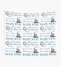 Werewolf Bar Mitzvah Wall Tapestry
