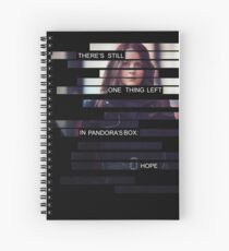 Root - Person of Interes - Quote Spiral Notebook