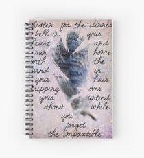 Dinner Bell In Your Heart Spiral Notebook