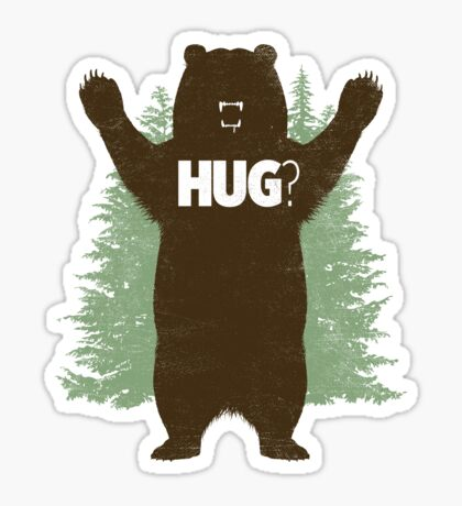 Bear Hug (Reworked) Sticker