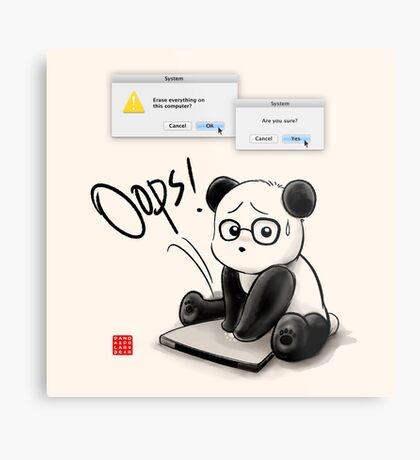 IT Panda Metal Print