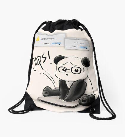 IT Panda Drawstring Bag