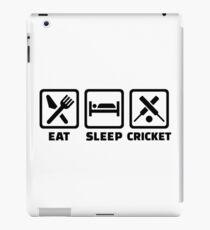 Iss Schlaf Cricket iPad-Hülle & Klebefolie