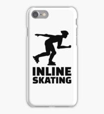 Inline skating iPhone Case/Skin