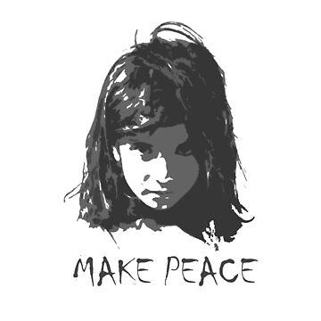Make Peace - Refugee Design 2 by west12345