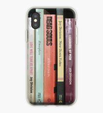 Joy Division Bookshelf iPhone Case