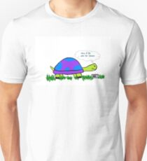 Turtle; Mom I'll Be Late For Dinner T-Shirt