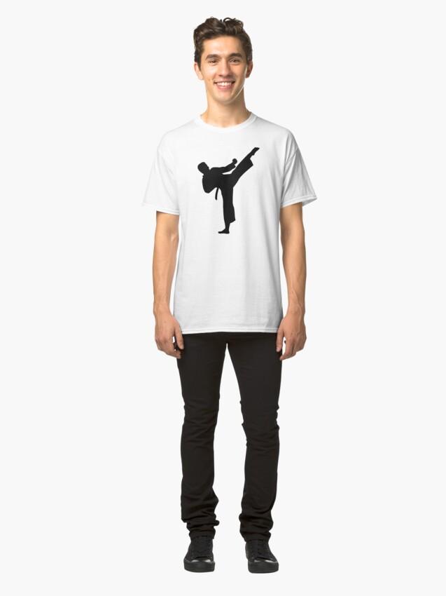 Vista alternativa de Camiseta clásica Kárate