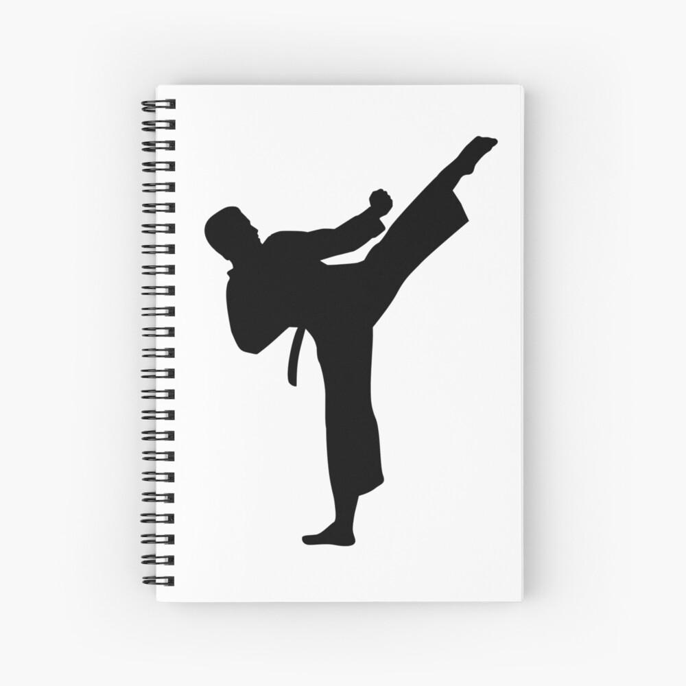 Kárate Cuaderno de espiral