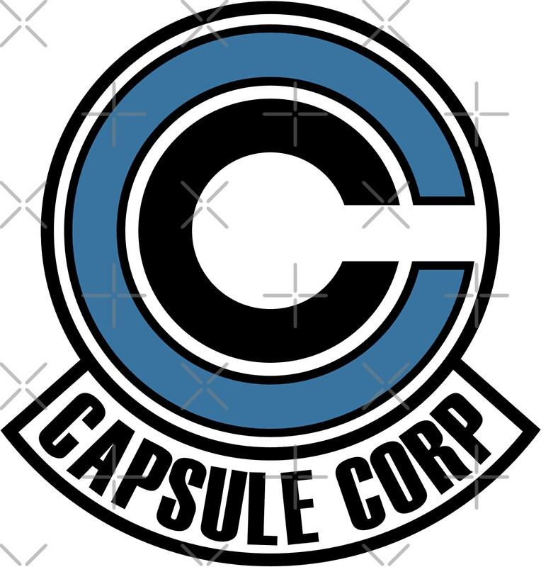 """capsule corp"""" stickersblvckgvmi   redbubble"""