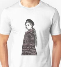 Emma Watson Feminism Design Unisex T-Shirt