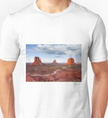 The Mittens and Merrick Butte at Sunset T-Shirt