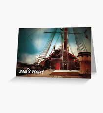 Baal's Heart - Painting by Baltsaros Greeting Card