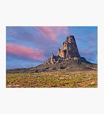 Sunset on Agathla Peak Photographic Print