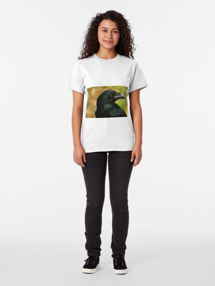 Alternate view of Raven, totem bird ... Classic T-Shirt