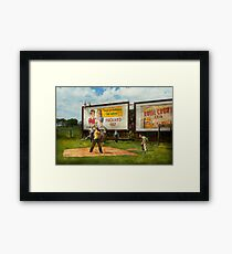 Sport - Baseball - America's past time 1943 Framed Print