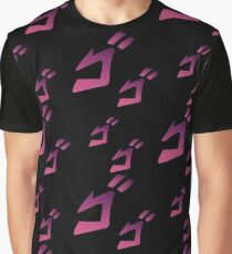 Jojo MENACING ゴゴゴ ( Jojo's Bizarre Adventure ) Graphic T-Shirt