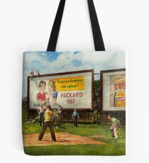 Sport - Baseball - America's past time 1943 Tote Bag