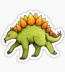 Derpy Stegosaurus Sticker