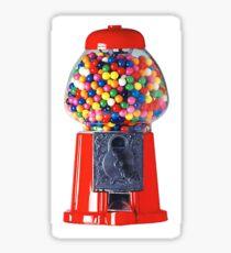 Retro Gum ball machine red Sticker