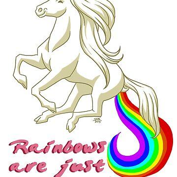 Rainbows Are Unicorn Farts by JacobBlackmon