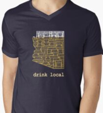 Drink Local - Arizona Beer Shirt Men's V-Neck T-Shirt