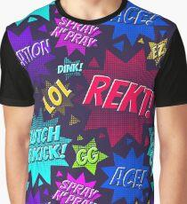 CS:GO Lingo Pattern Graphic T-Shirt